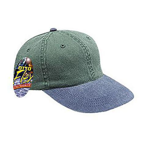 Otto Flex Dyed Cotton Twill Cap - Branded Caps  913d4136ee5