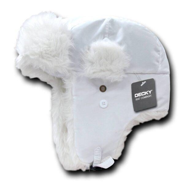 Aviator Hat White