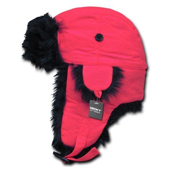 Neon Aviator Hat Navy Pink