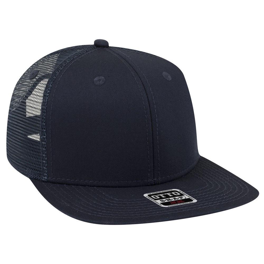 Six Panel Cotton Mesh Snapback Flat Cap - Promo Caps  260a1441db6