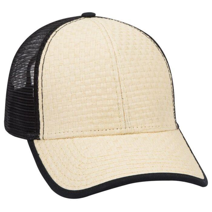 Toyo Straw Low Profile Mesh Back Cap