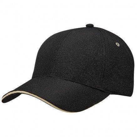 100% PET Cap Black Sandstone