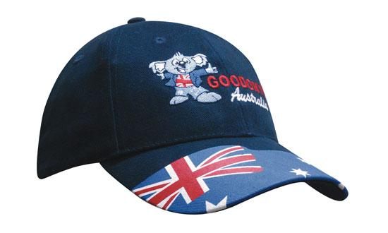 Brushed Cotton Waving Flag Cap
