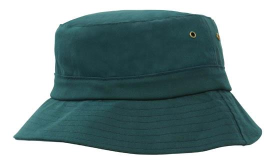 Brushed Sports Twill Youth Bucket Hat Bottle