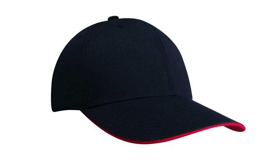 Duckbill Sandwich Recycled Earth Friendly Fabric Cap Navy Red