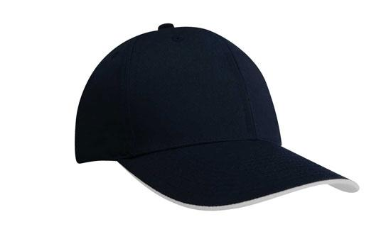 Duckbill Sandwich Recycled Earth Friendly Fabric Cap Navy White