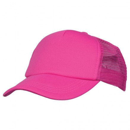 Foam Mesh Trucker Cap Hot Pink