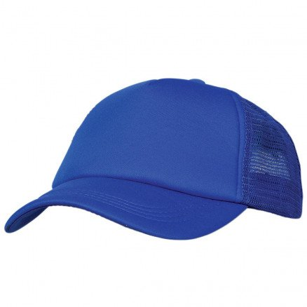 Foam Mesh Trucker Cap Royal