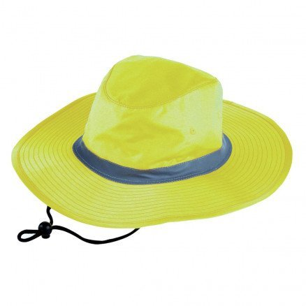 Hi Vis Reflector Safety Hat Yellow