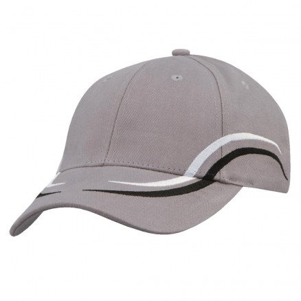 Icarus Cap Grey White Black