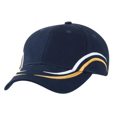 Icarus Cap Navy White Gold