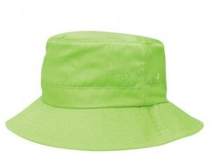 Kids Twill Bucket Hat Lime