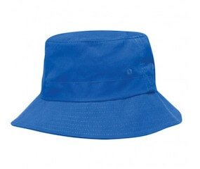 Kids Twill Bucket Hat Royal