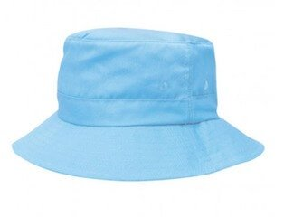 Kids Twill Bucket Hat Sky Blue