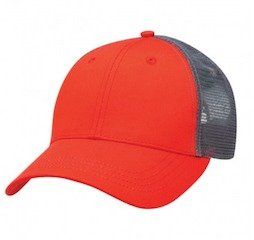 Lo-Pro Mesh Trucker Cap Red