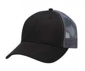 Lo-Pro Mesh Trucker Cap Black