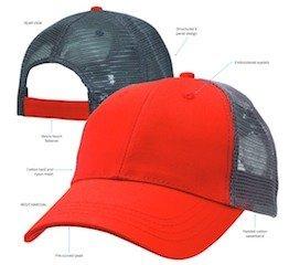 Lo-Pro Mesh Trucker Cap Specs