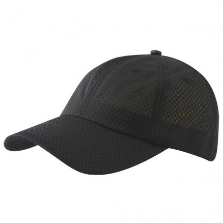 Mesh Sports Cap Black
