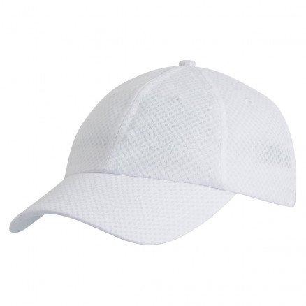 Mesh Sports Cap White