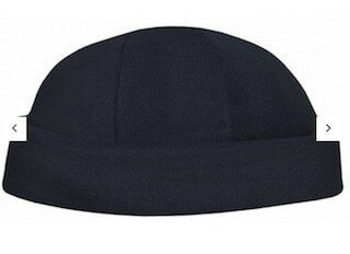 Polar Fleece Roll Beanie Navy