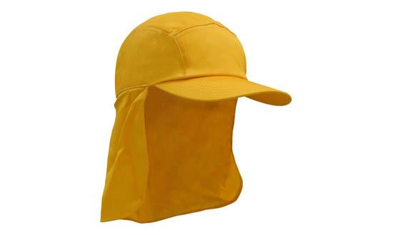Poly Cotton Legionnaire Hat Gold