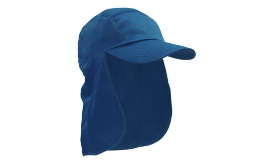 Poly Cotton Legionnaire Hat Royal