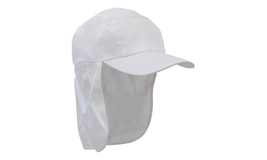 Poly Cotton Legionnaire Hat White