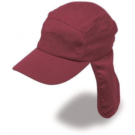Poly Viscose Legionnaire Hat Maroon