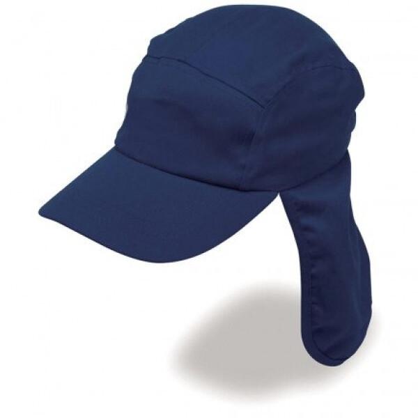 Poly Viscose Legionnaire Hat Navy