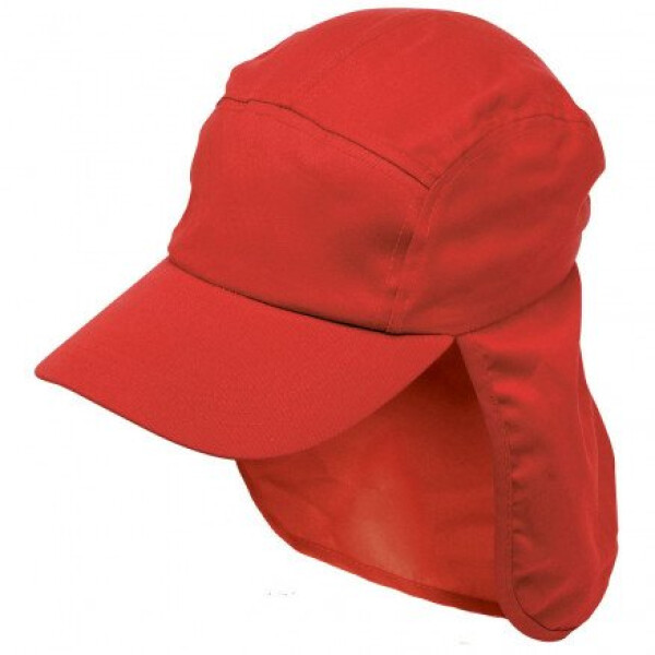 Poly Viscose Legionnaire Hat Red