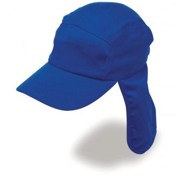 Poly Viscose Legionnaire Hat Royal