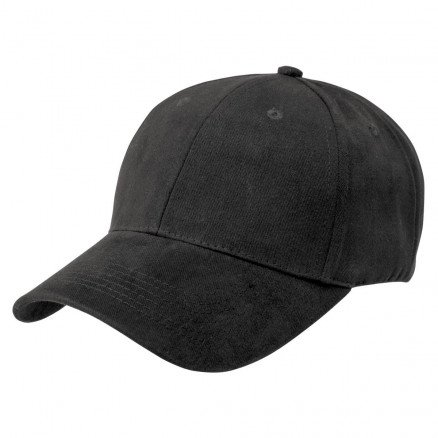 Premium Soft Cotton Cap Black