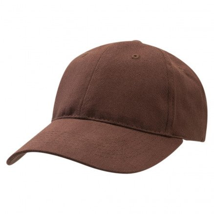 Premium Soft Cotton Cap Brown