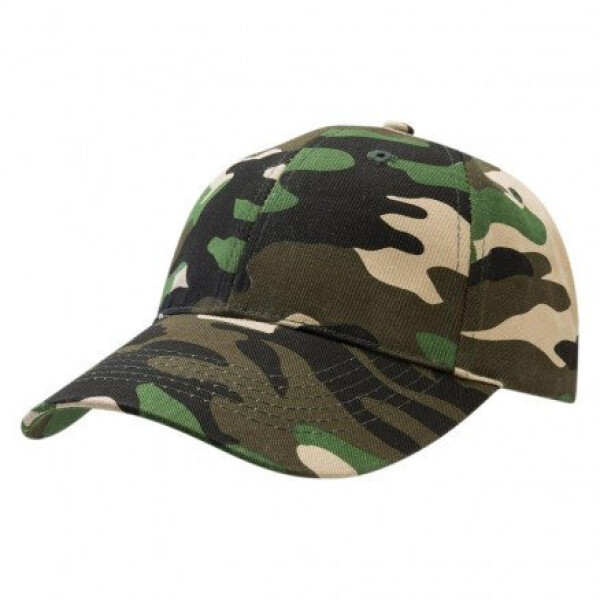Premium Soft Cotton Cap Camoflauge Green