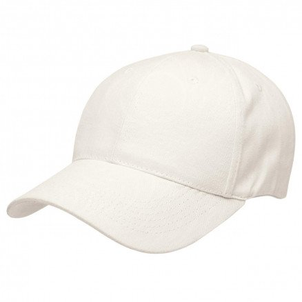 Premium Soft Cotton Cap Chalk White