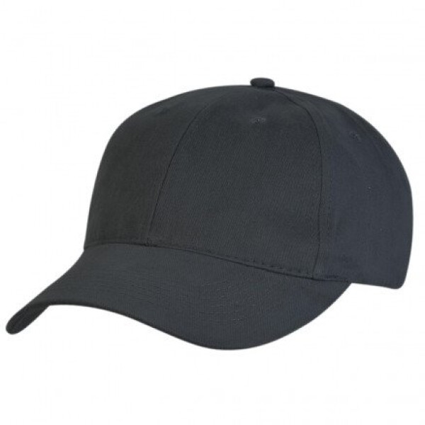 Premium Soft Cotton Cap Charcoal