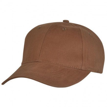 Premium Soft Cotton Cap Chestnut