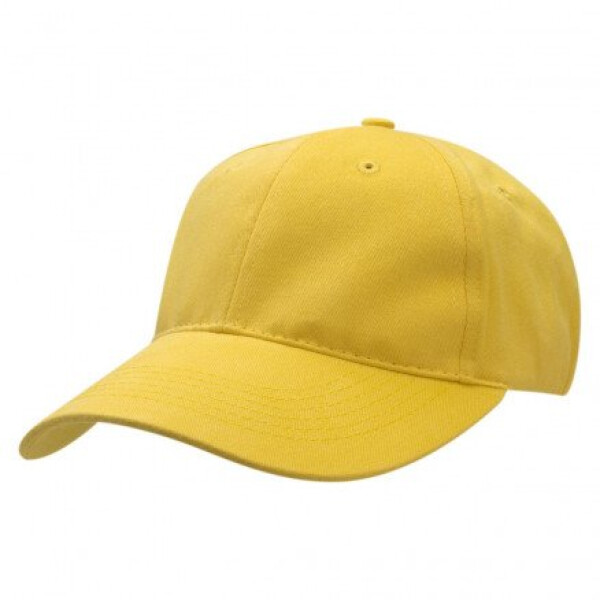Premium Soft Cotton Cap Mustard