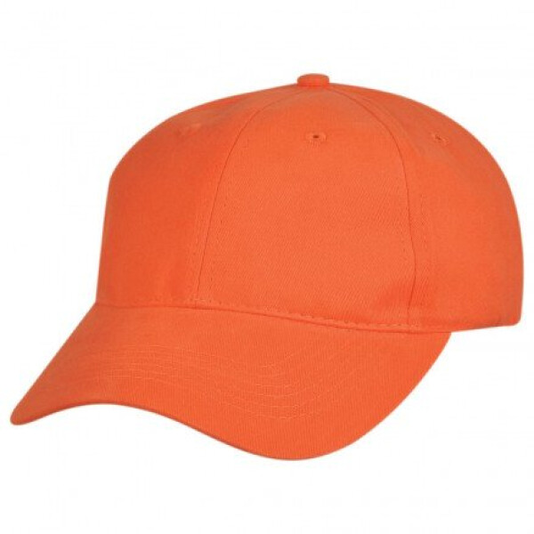 Premium Soft Cotton Cap Orange