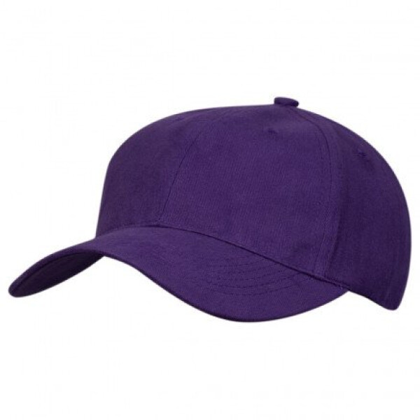 Premium Soft Cotton Cap Purple