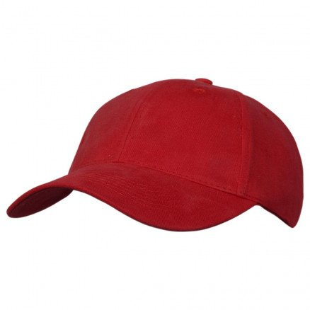 Premium Soft Cotton Cap Red