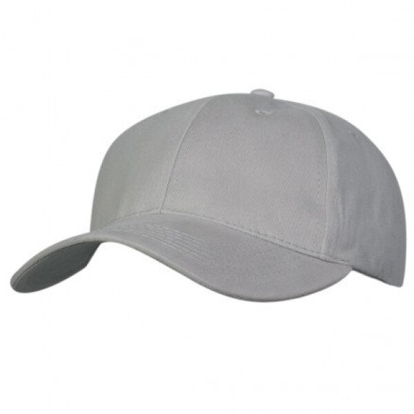 Premium Soft Cotton Cap Silver