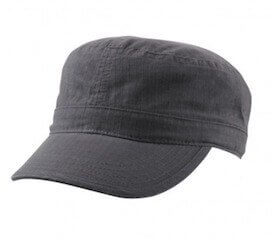 Ripstop Military Cap Grey