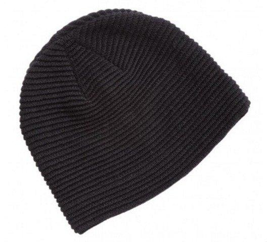 Ruga Knit Beanie Black