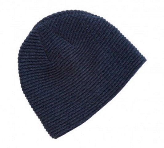 Ruga Knit Beanie Navy