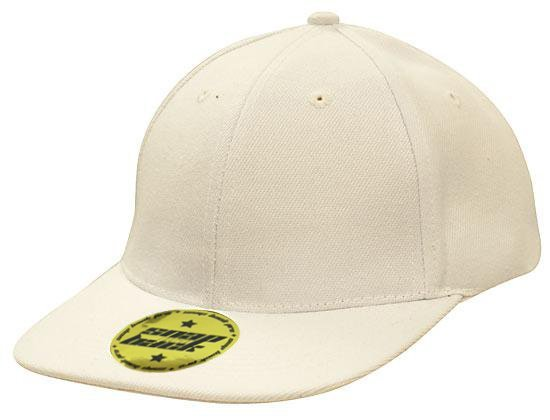 Snap Back Pro Style Premium American Twill Cap White