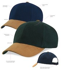 Sueded Peak Cap Specs