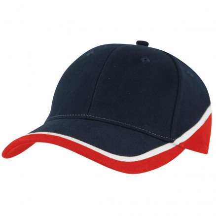 Sunset Cap - Navy White Red