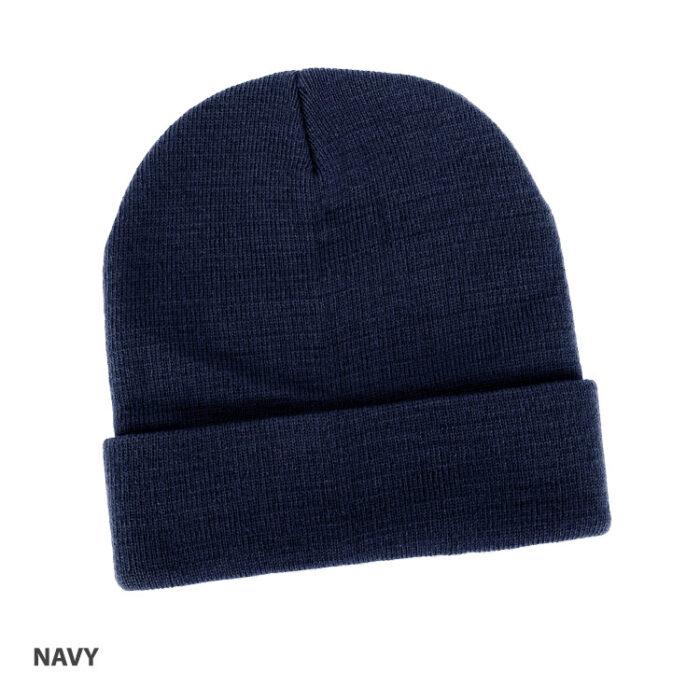 Acrylic Beanie Navy