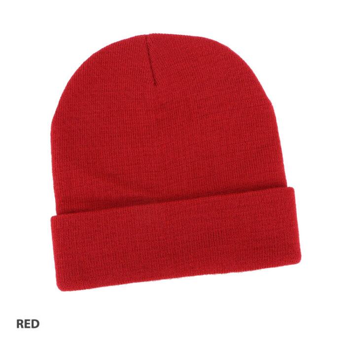 Acrylic Beanie Red